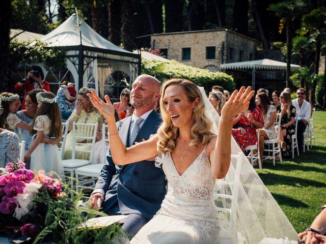 Il matrimonio di Jon e Rebecca a Gardone Riviera, Brescia 66