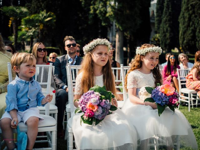 Il matrimonio di Jon e Rebecca a Gardone Riviera, Brescia 68