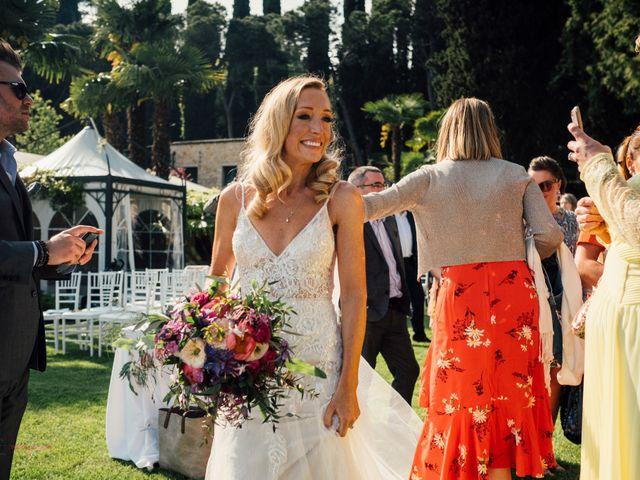 Il matrimonio di Jon e Rebecca a Gardone Riviera, Brescia 76