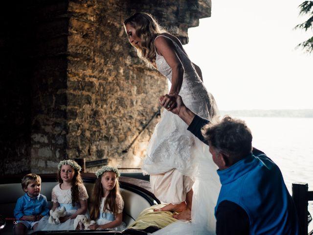 Il matrimonio di Jon e Rebecca a Gardone Riviera, Brescia 80