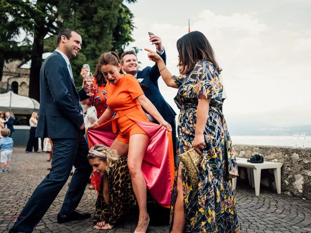 Il matrimonio di Jon e Rebecca a Gardone Riviera, Brescia 88
