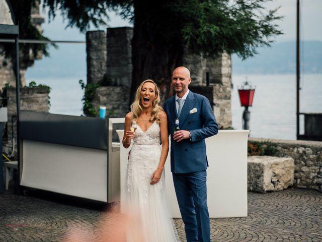 Il matrimonio di Jon e Rebecca a Gardone Riviera, Brescia 89