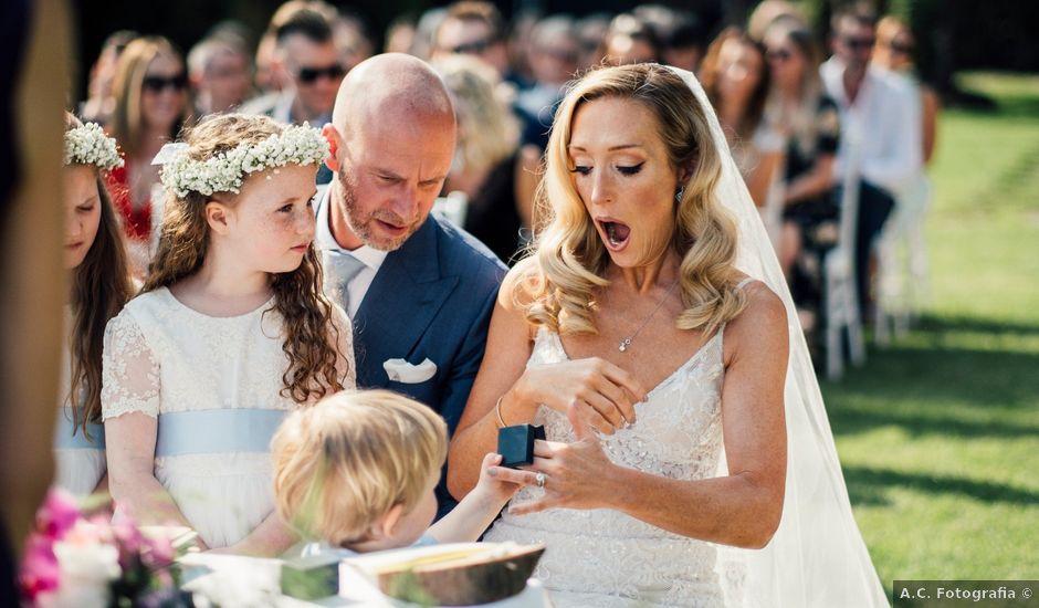 Il matrimonio di Jon e Rebecca a Gardone Riviera, Brescia