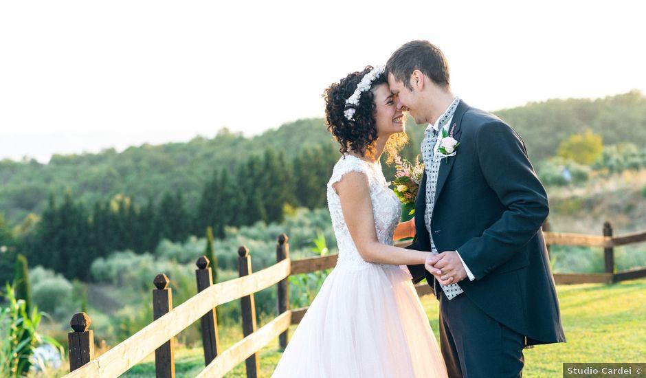 Il matrimonio di Lorenzo e Donatella a Trevignano Romano, Roma