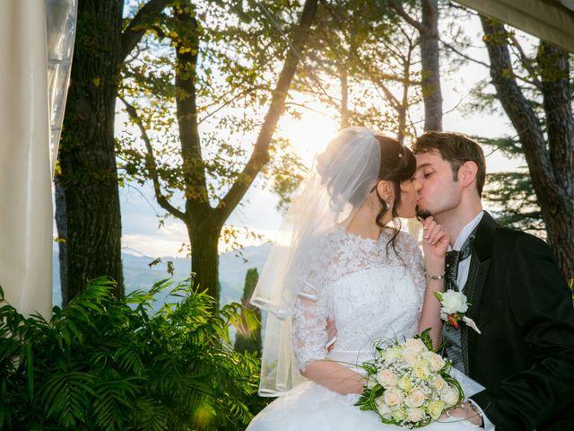 Le nozze di Sabrina e Anthony