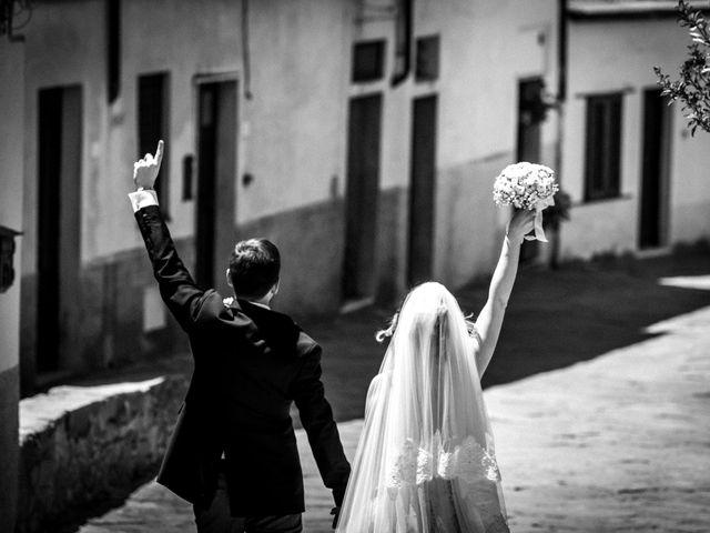 Il matrimonio di Matteo e Veronica a Scansano, Grosseto 42