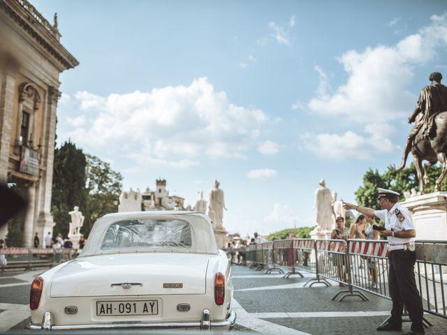 Il matrimonio di James e Chiara a Roma, Roma 55