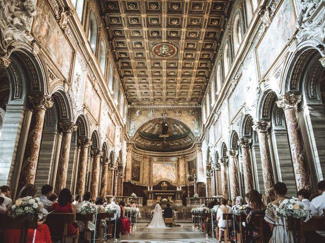 Il matrimonio di James e Chiara a Roma, Roma 65