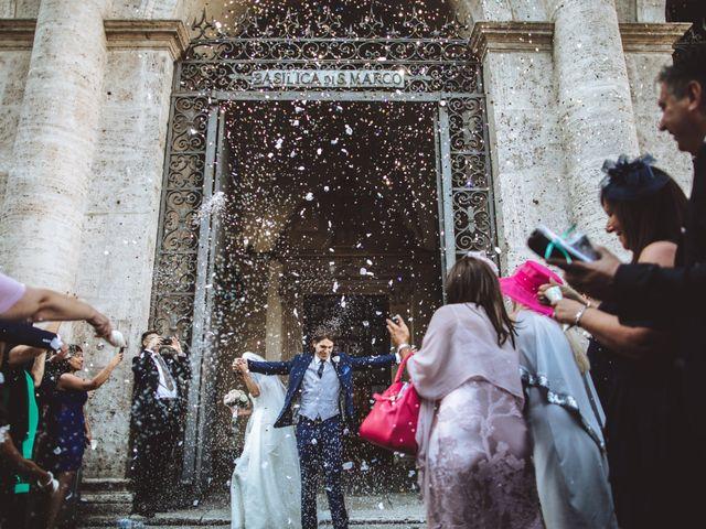 Il matrimonio di James e Chiara a Roma, Roma 68