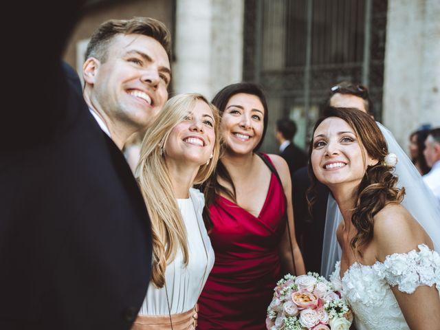 Il matrimonio di James e Chiara a Roma, Roma 74