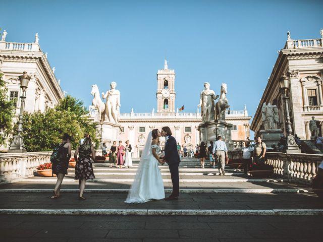 Il matrimonio di James e Chiara a Roma, Roma 76