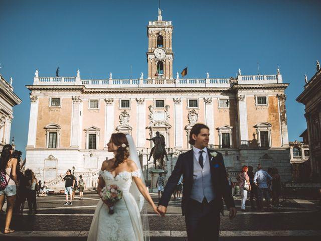 Il matrimonio di James e Chiara a Roma, Roma 77