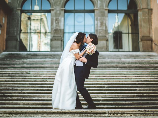Il matrimonio di James e Chiara a Roma, Roma 78