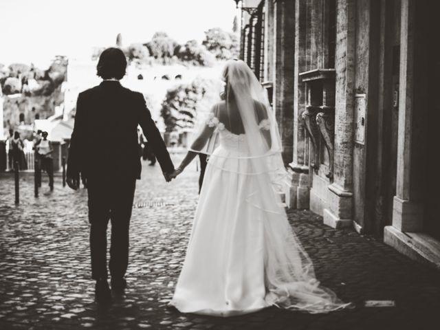 Il matrimonio di James e Chiara a Roma, Roma 79