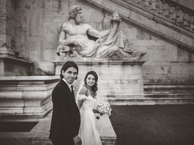 Il matrimonio di James e Chiara a Roma, Roma 1