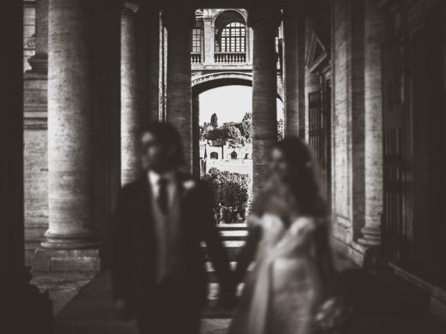 Il matrimonio di James e Chiara a Roma, Roma 82