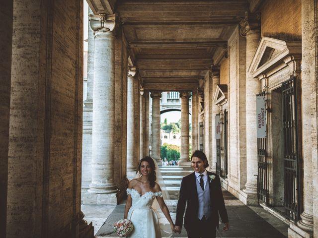 Il matrimonio di James e Chiara a Roma, Roma 83
