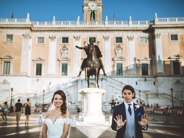 Il matrimonio di James e Chiara a Roma, Roma 84
