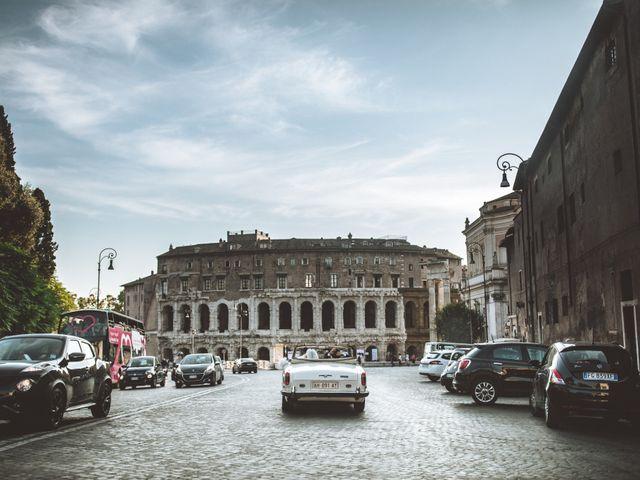Il matrimonio di James e Chiara a Roma, Roma 86