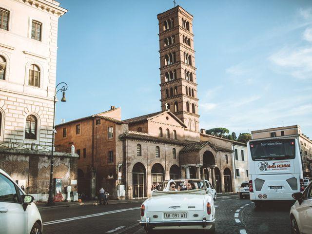Il matrimonio di James e Chiara a Roma, Roma 87