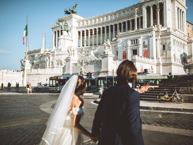 Il matrimonio di James e Chiara a Roma, Roma 143
