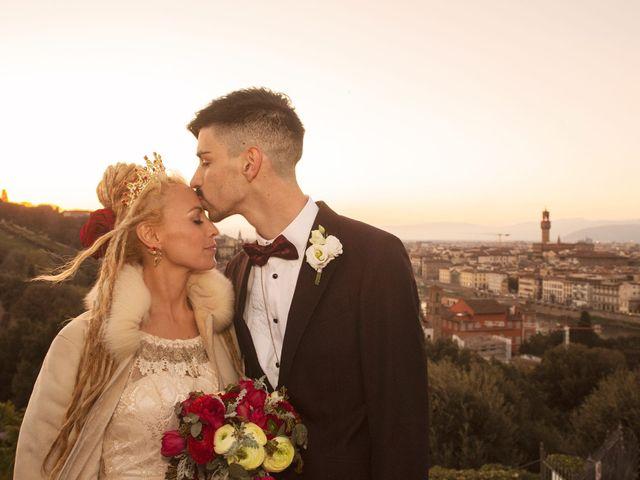 Il matrimonio di David e Tathiana a Impruneta, Firenze 1