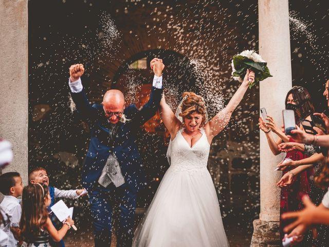 Il matrimonio di Ugo e Elena a Bracciano, Roma 1