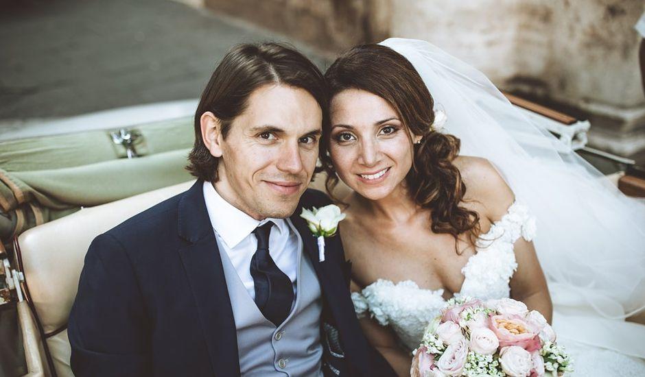 Il matrimonio di James e Chiara a Roma, Roma