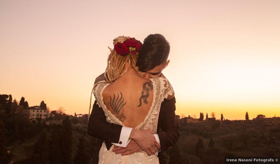 Il matrimonio di David e Tathiana a Impruneta, Firenze