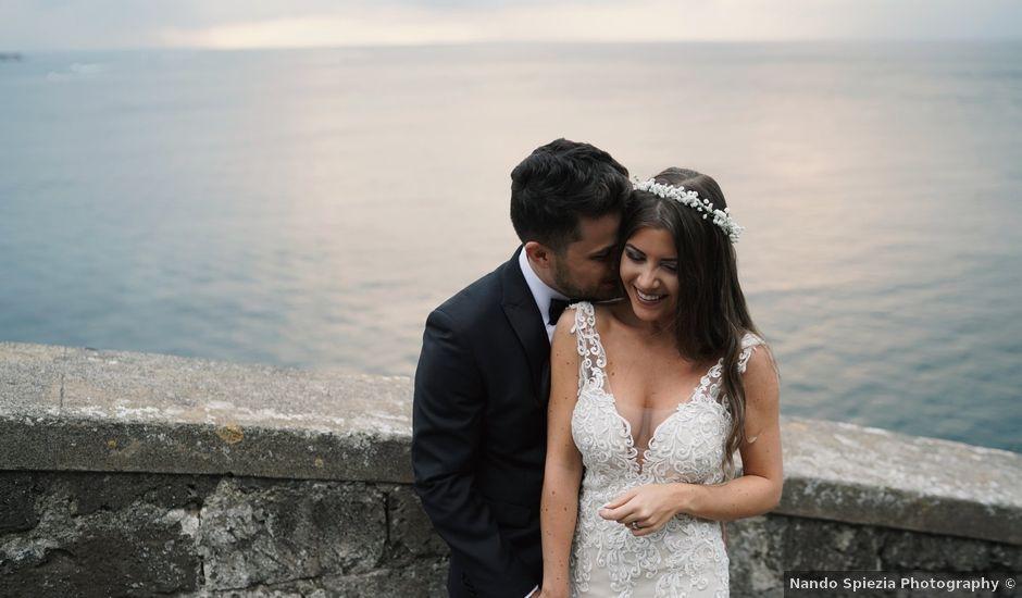 Il matrimonio di Roberto e Carine a Sorrento, Napoli