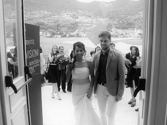 Il matrimonio di Peter e Liza a Monte Isola, Brescia 13
