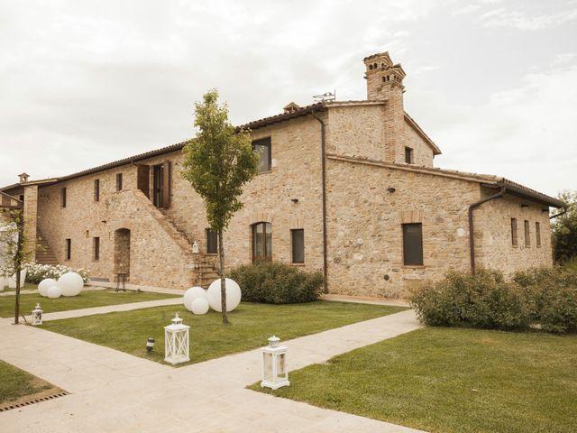 Il matrimonio di Giovanni e Galina a Todi, Perugia 2
