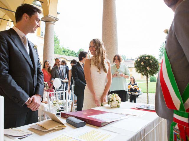 Il matrimonio di Matt e Silvia a Pavia, Pavia 46