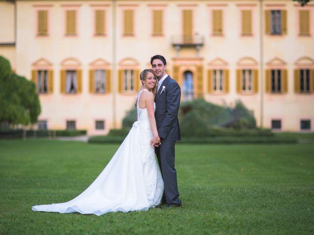 Il matrimonio di Matt e Silvia a Pavia, Pavia 114