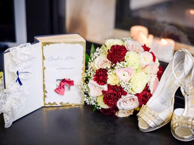 Il matrimonio di Claudio e Sara a Montespertoli, Firenze 1