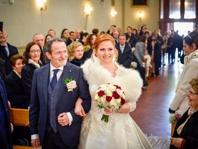 Il matrimonio di Claudio e Sara a Montespertoli, Firenze 19