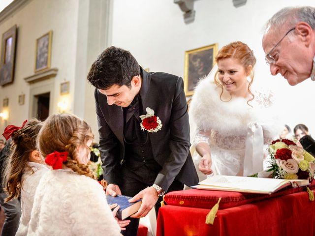Il matrimonio di Claudio e Sara a Montespertoli, Firenze 20