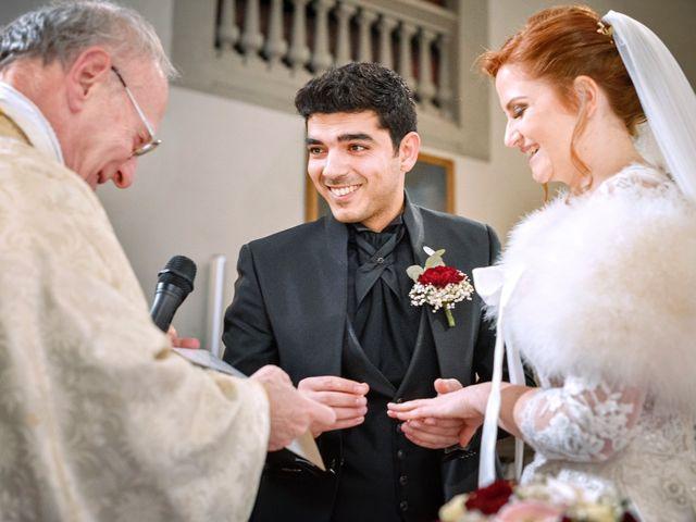 Il matrimonio di Claudio e Sara a Montespertoli, Firenze 21