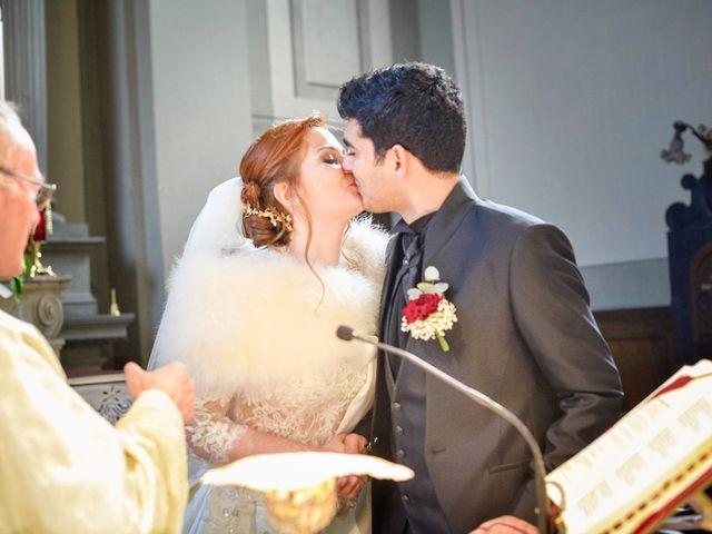 Il matrimonio di Claudio e Sara a Montespertoli, Firenze 22