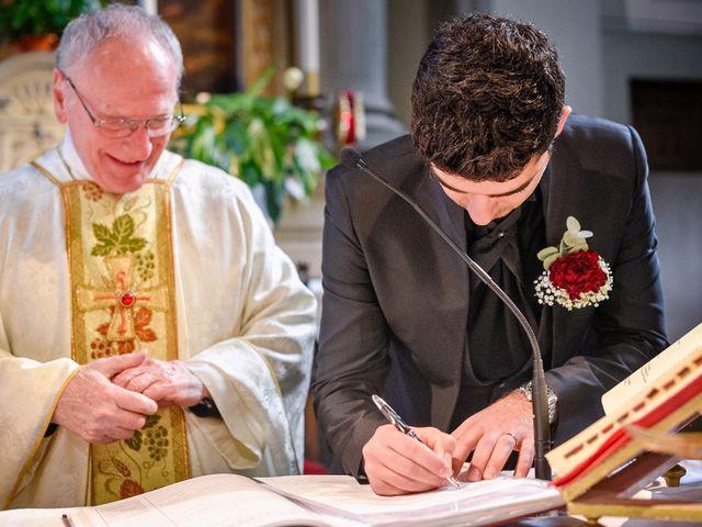 Il matrimonio di Claudio e Sara a Montespertoli, Firenze 24