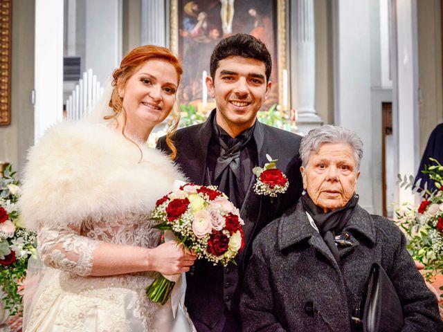 Il matrimonio di Claudio e Sara a Montespertoli, Firenze 29