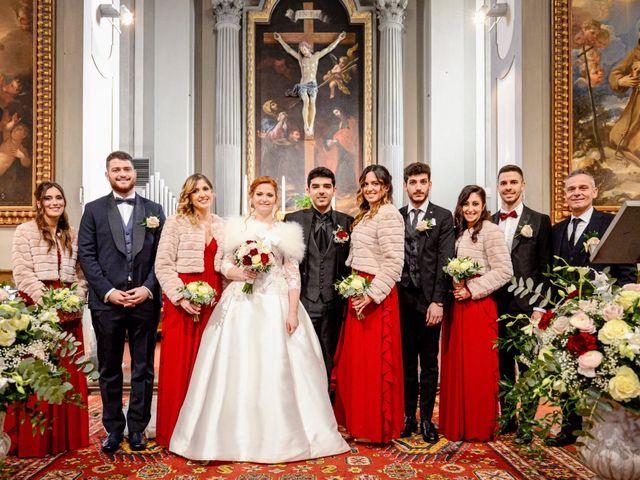 Il matrimonio di Claudio e Sara a Montespertoli, Firenze 30