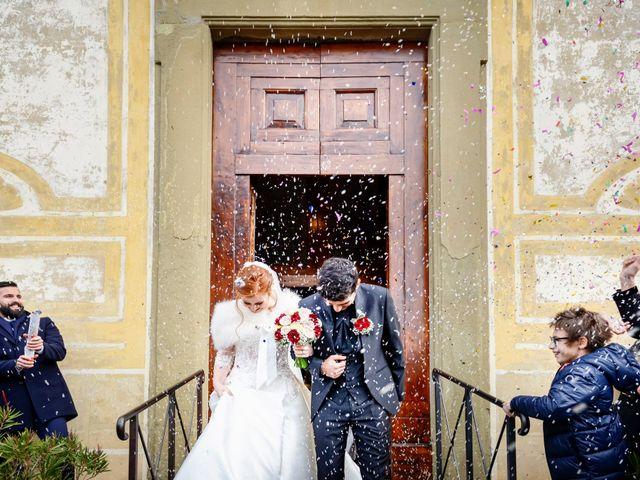 Il matrimonio di Claudio e Sara a Montespertoli, Firenze 31