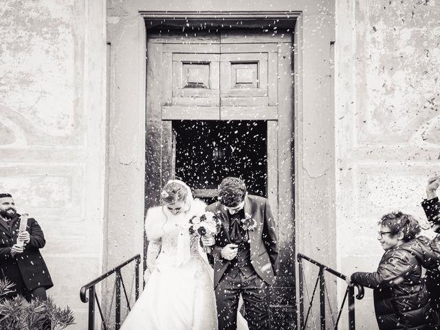 Il matrimonio di Claudio e Sara a Montespertoli, Firenze 32