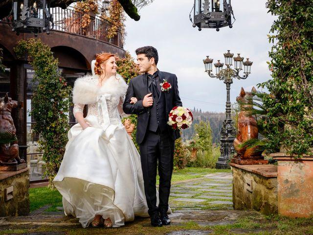 Il matrimonio di Claudio e Sara a Montespertoli, Firenze 33
