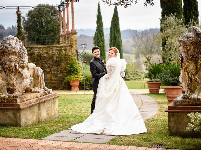 Il matrimonio di Claudio e Sara a Montespertoli, Firenze 34