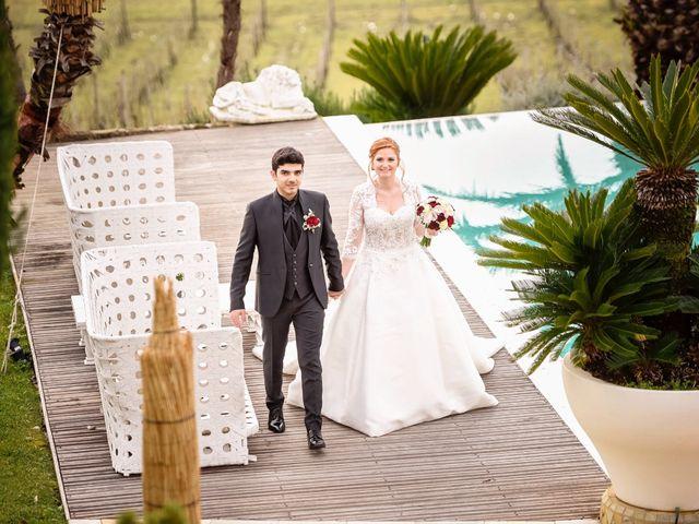 Il matrimonio di Claudio e Sara a Montespertoli, Firenze 35