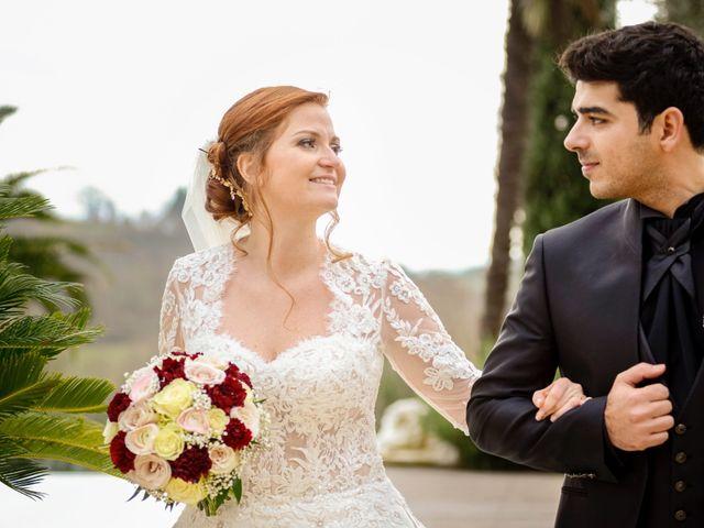Il matrimonio di Claudio e Sara a Montespertoli, Firenze 36