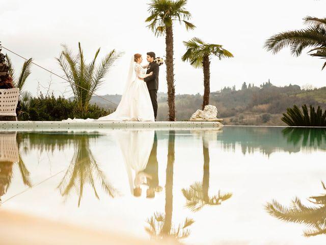 Il matrimonio di Claudio e Sara a Montespertoli, Firenze 39