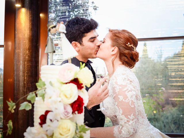 Il matrimonio di Claudio e Sara a Montespertoli, Firenze 45
